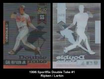 1996 Sportflix Double Take #1