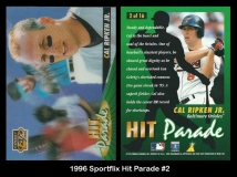 1996 Sportflix Hit Parade #2