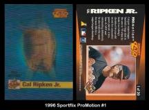 1996 Sportflix ProMotion #1