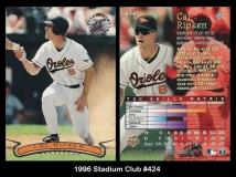 1996 Stadium Club #424