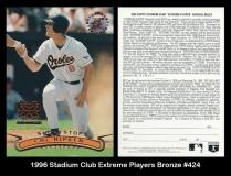 1996 Stadium Club Extreme Players Bronze #424