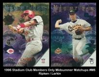 1996 Stadium Club Members Only Midsummer Matchups #M6