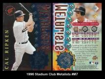 1996 Stadium Club Metalists #M7