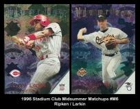 1996 Stadium Club Midsummer Matchups #M6