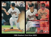 1996 Stadium Club Silver #424
