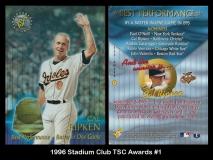 1996 Stadium Club TSC Awards #1
