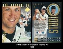 1996 Studio Gold Press Proofs #1