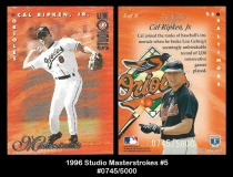 1996 Studio Masterstrokes #5