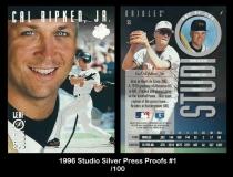 1996 Studio Silver Press Proofs #1