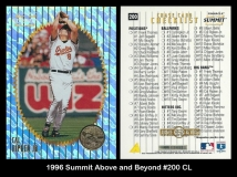 1996 Summit Above and Beyond #200 CL