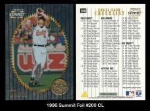 1996 Summit Foil #200 CL