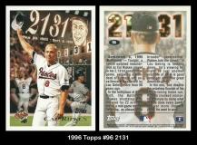 1996 Topps #96 2131