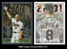 1996 Topps Chrome #28 2131