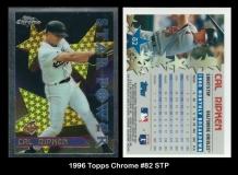 1996 Topps Chrome #82 STP