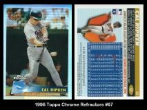 1996 Topps Chrome Refractors #67
