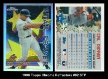 1996 Topps Chrome Refractors #82 STP