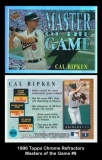 1996 Topps Chrome Refractors Masters of the Game #9