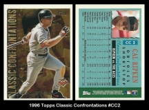 1996 Topps Classic Confrontations #CC2