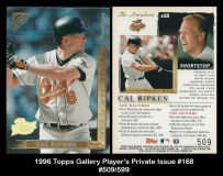 1996 Topps Gallery Players Private Issue #168