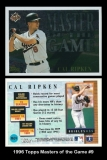 1996 Topps Masters of the Game #9