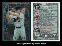 1996 Topps Mystery Finest #M23
