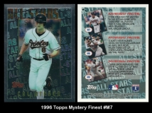 1996 Topps Mystery Finest #M7
