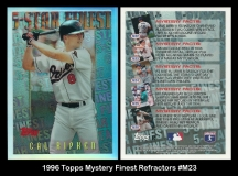 1996 Topps Mystery Finest Refractors #M23