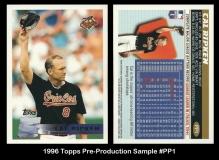 1996 Topps Pre-Production Sample #PP1