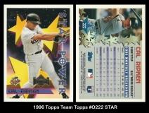 1996 Topps Team Topps #0222 STAR