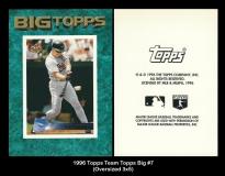 1996 Topps Team Topps Big #7