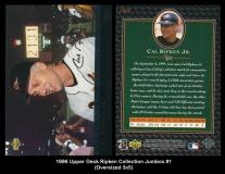 1996 Upper Deck Ripken Collection Jumbos #1