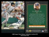 1996 Upper Deck Ripken Collection Jumbos #10