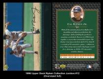1996 Upper Deck Ripken Collection Jumbos #12