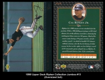 1996 Upper Deck Ripken Collection Jumbos #13