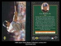 1996 Upper Deck Ripken Collection Jumbos #14