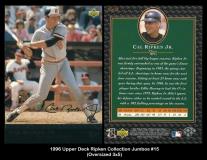 1996 Upper Deck Ripken Collection Jumbos #15