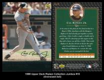 1996 Upper Deck Ripken Collection Jumbos #16