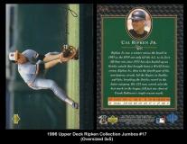 1996 Upper Deck Ripken Collection Jumbos #17