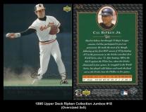 1996 Upper Deck Ripken Collection Jumbos #18