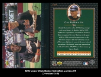 1996 Upper Deck Ripken Collection Jumbos #2