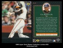 1996 Upper Deck Ripken Collection Jumbos #20