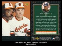 1996 Upper Deck Ripken Collection Jumbos #22