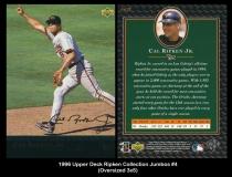 1996 Upper Deck Ripken Collection Jumbos #4