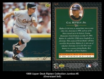 1996 Upper Deck Ripken Collection Jumbos #5