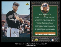 1996 Upper Deck Ripken Collection Jumbos #7