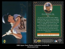1996 Upper Deck Ripken Collection Jumbos #8