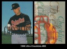 1996 Ultra Checklists #B9