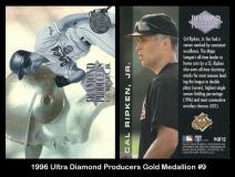 1996 Ultra Diamond Producers Gold Medallion #9