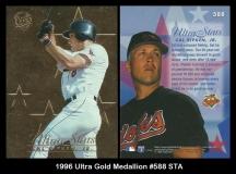 1996 Ultra Gold Medallion #588 STA