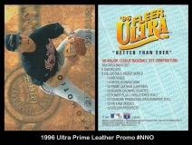 1996 Ultra Prime Leather Promo #NNO